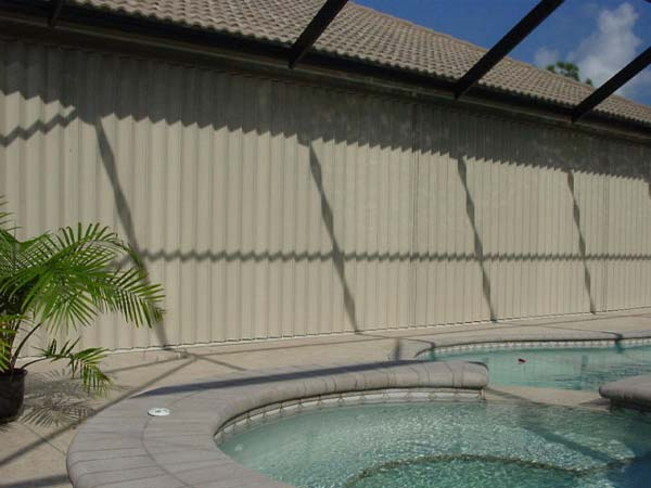Accordion Shutters Gallery | Sentinel Storm Protection - Roll Down Shutters & Roll Screens in Naples and Fort Myers, Florida