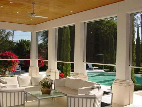 Rolling Screens Gallery | Sentinel Storm Protection - Roll Down Shutters & Roll Screens in Naples and Fort Myers, Florida