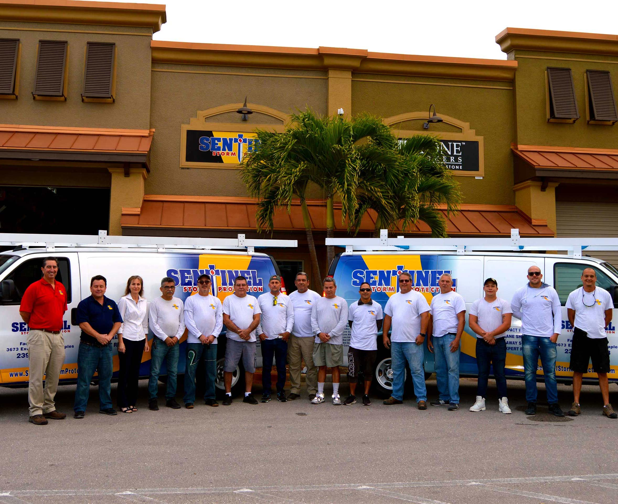 Our Team | Sentinel Storm Protection - Roll Down Shutters & Roll Screens in Naples and Fort Myers, Florida